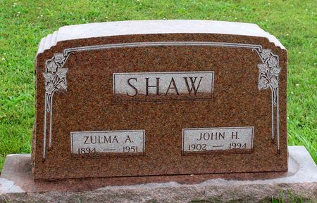 SHAW, JOHN H. - Decatur County, Iowa | JOHN H. SHAW