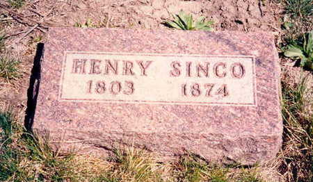 SINCO, HENRY - Decatur County, Iowa | HENRY SINCO