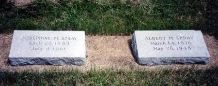 SPRAY, JOSEPHINE M. AND ALBERT M. - Decatur County, Iowa | JOSEPHINE M. AND ALBERT M. SPRAY