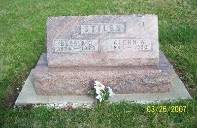 BRIHT STILES, BESSIE CELESTE - Decatur County, Iowa | BESSIE CELESTE BRIHT STILES