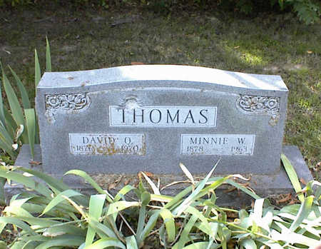 THOMAS, DAVID O. - Decatur County, Iowa | DAVID O. THOMAS