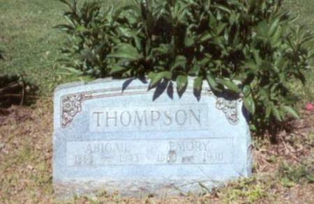 THOMPSON, EMORY AND ABIGAIL - Decatur County, Iowa | EMORY AND ABIGAIL THOMPSON
