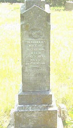 TURNER, THEODORA - Decatur County, Iowa | THEODORA TURNER