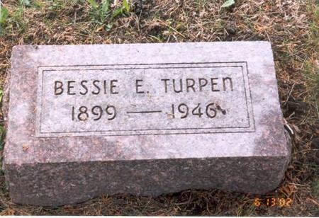 TURPEN, BESSIE E. - Decatur County, Iowa | BESSIE E. TURPEN