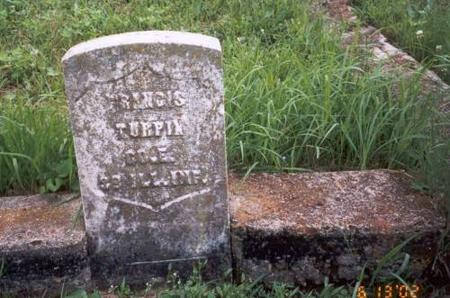 TURPIN, FRANCIS - Decatur County, Iowa | FRANCIS TURPIN