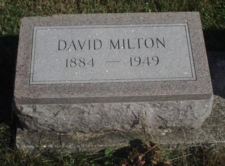 VREDENBURG, DAVID MILTON - Decatur County, Iowa | DAVID MILTON VREDENBURG