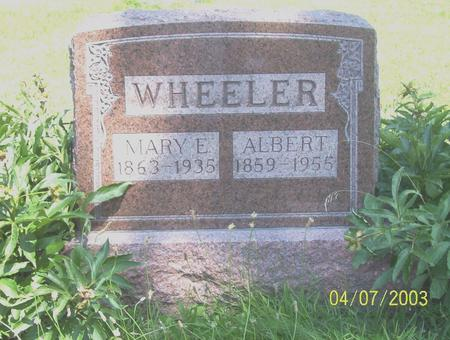 WHEELER, ALBERT - Decatur County, Iowa | ALBERT WHEELER