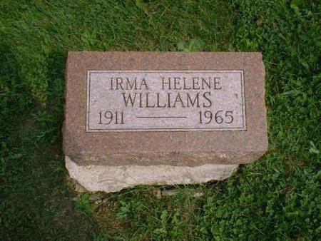 WILLIAMS, IRMA - Decatur County, Iowa | IRMA WILLIAMS