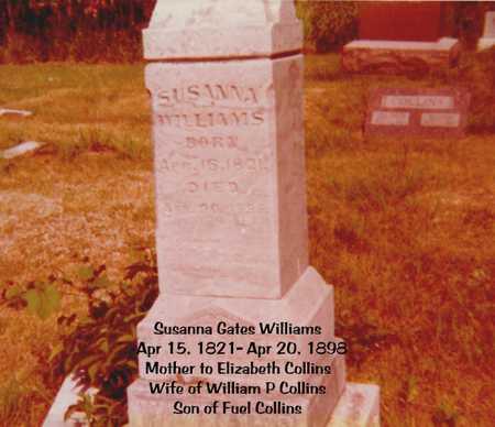 GATES WILLIAMS, SUSANNA - Decatur County, Iowa | SUSANNA GATES WILLIAMS