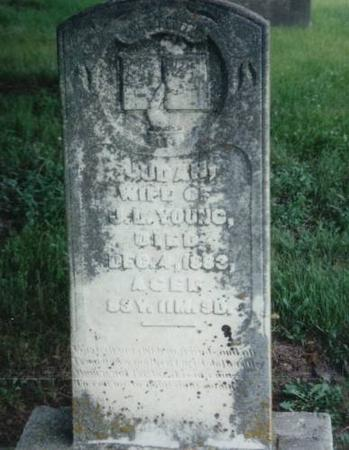 YOUNG, JUDAH (GOLDSMITH) - Decatur County, Iowa   JUDAH (GOLDSMITH) YOUNG