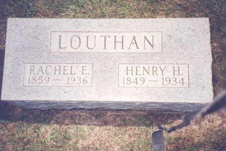 LOUTHAN, RACHEL E. - Decatur County, Iowa | RACHEL E. LOUTHAN