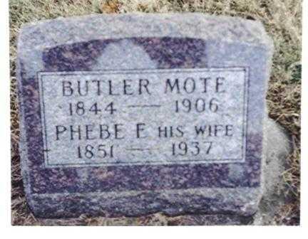 MOTE, PHEBE - Decatur County, Iowa | PHEBE MOTE