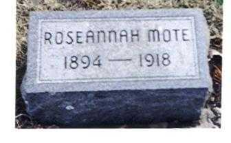 MOTE, ROSEANNAH - Decatur County, Iowa | ROSEANNAH MOTE