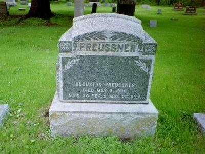 PREUSSNER, AUGUSTUS - Delaware County, Iowa | AUGUSTUS PREUSSNER