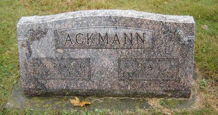 ACKMANN, WILLIAM G. - Delaware County, Iowa | WILLIAM G. ACKMANN