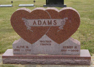 ADAMS, ALTIE M. - Delaware County, Iowa | ALTIE M. ADAMS