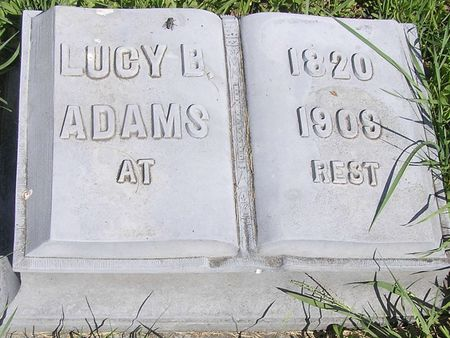 ADAMS, LUCY - Delaware County, Iowa | LUCY ADAMS