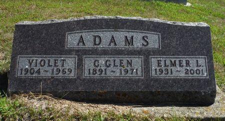 THARP ADAMS, VIOLET - Delaware County, Iowa | VIOLET THARP ADAMS