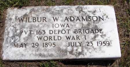 ADAMSON, WILBUR W. - Delaware County, Iowa   WILBUR W. ADAMSON