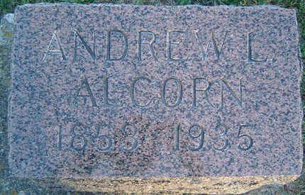 ALCORN, ANDREW L. - Delaware County, Iowa | ANDREW L. ALCORN