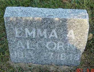 ALCORN, EMMA A. - Delaware County, Iowa | EMMA A. ALCORN
