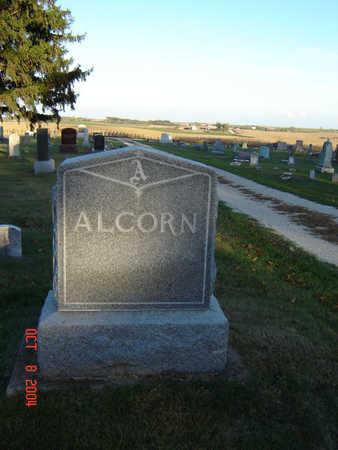 ALCORN, FAMILY MONUMENT - Delaware County, Iowa | FAMILY MONUMENT ALCORN