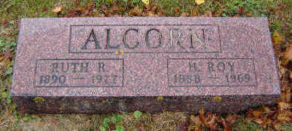 RULON ALCORN, RUTH - Delaware County, Iowa | RUTH RULON ALCORN