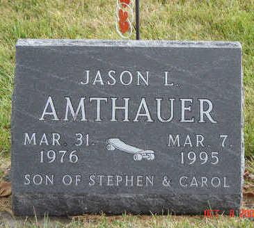 AMTHAUER, JASON L. - Delaware County, Iowa | JASON L. AMTHAUER