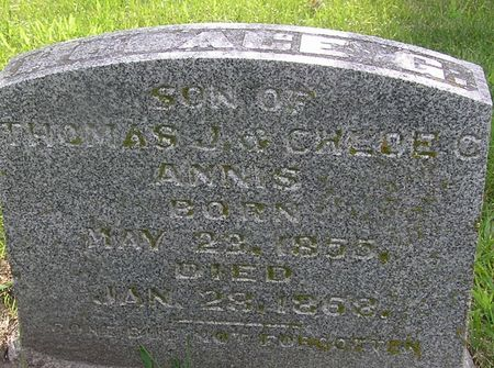 ANNIS, HORACE G. - Delaware County, Iowa | HORACE G. ANNIS