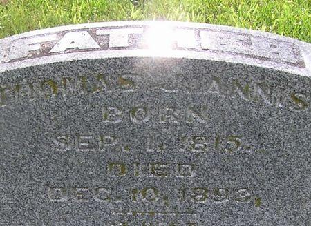 ANNIS, THOMAS J. - Delaware County, Iowa | THOMAS J. ANNIS