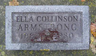 COLLINSON ARMSTRONG, ELLA - Delaware County, Iowa | ELLA COLLINSON ARMSTRONG