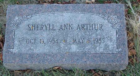 ARTHUR, SHERYLL ANN - Delaware County, Iowa   SHERYLL ANN ARTHUR