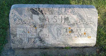 ASH, ANNIE - Delaware County, Iowa | ANNIE ASH