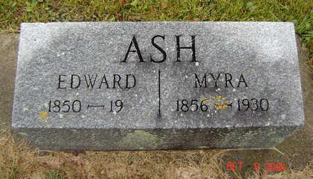 CLEVELAND ASH, MYRA - Delaware County, Iowa | MYRA CLEVELAND ASH