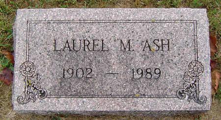 ASH, LAUREL M. - Delaware County, Iowa | LAUREL M. ASH
