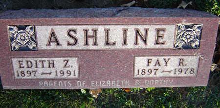 ASHLINE, FAY R. - Delaware County, Iowa | FAY R. ASHLINE