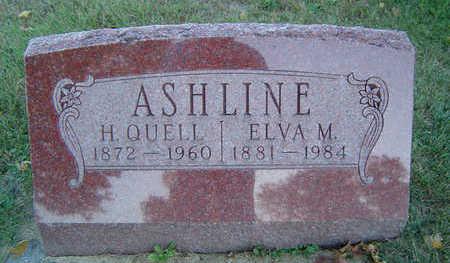 ASHLINE, HENRY QUELL - Delaware County, Iowa   HENRY QUELL ASHLINE