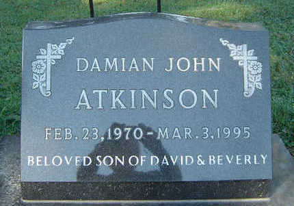ATKINSON, DAMIAN JOHN - Delaware County, Iowa | DAMIAN JOHN ATKINSON
