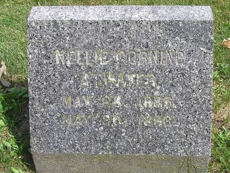 CORNING ATWATER, NELLIE - Delaware County, Iowa   NELLIE CORNING ATWATER