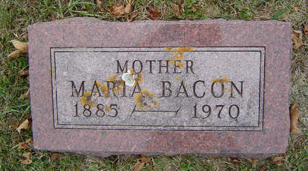 BACON, MARIA - Delaware County, Iowa | MARIA BACON