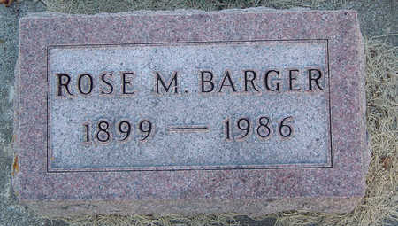 BARGER, ROSE MAE - Delaware County, Iowa | ROSE MAE BARGER