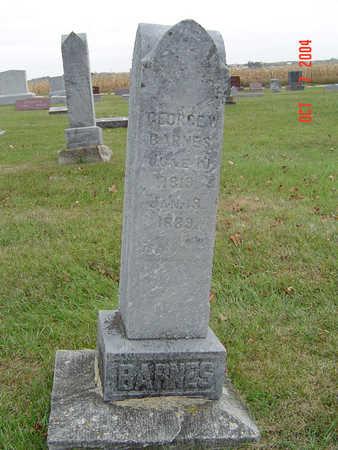 BARNES, GEORGE W. - Delaware County, Iowa | GEORGE W. BARNES