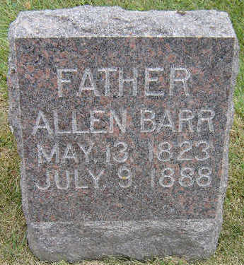 BARR, ALLEN - Delaware County, Iowa | ALLEN BARR