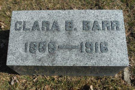 BARR, CLARA B. - Delaware County, Iowa | CLARA B. BARR