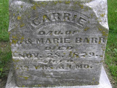 BARR, CARRIE - Delaware County, Iowa | CARRIE BARR