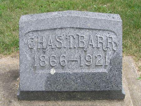BARR, CHAS T. - Delaware County, Iowa | CHAS T. BARR