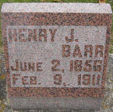 BARR, HENRY J. - Delaware County, Iowa   HENRY J. BARR