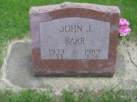 BARR, JOHN J. JR - Delaware County, Iowa | JOHN J. JR BARR