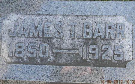 BARR, JAMES T. - Delaware County, Iowa | JAMES T. BARR