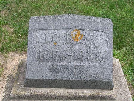 BARR, LO - Delaware County, Iowa   LO BARR